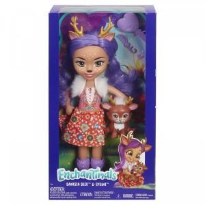 «Большая кукла со зверюшкой Данесса» EFRH54
