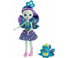 EFXM74 Кукла с питомцем Пэттэр Павлина