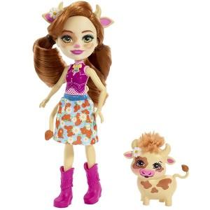 «Кукла с питомцем Коровка» EFXM77