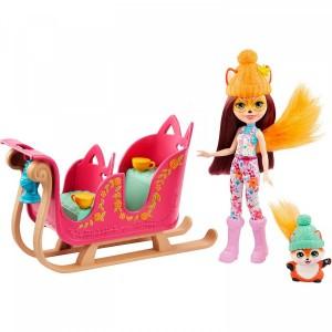 «Рождественские сани кукла и питомец» EGJX31