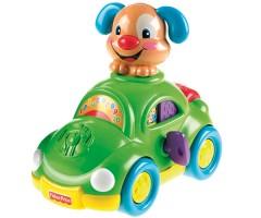 Машина  со щенком