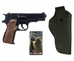 GH11256 Полицейский пистолет с кабурой