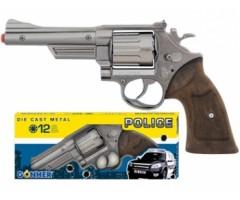GH60670 Револьвер Police 12 пистонов - Mеталл
