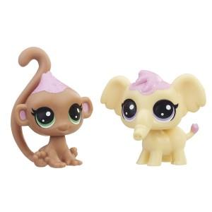 «Зефирные обезьянка и слоненок» HB1071E