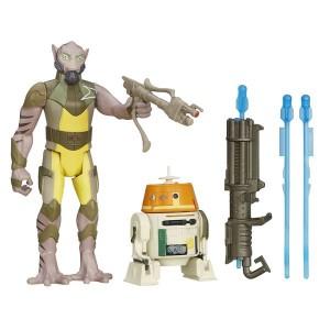 «Набор фигурок Звездные войны: Гаразеб Оррелиус и C1-10P» HB3962B