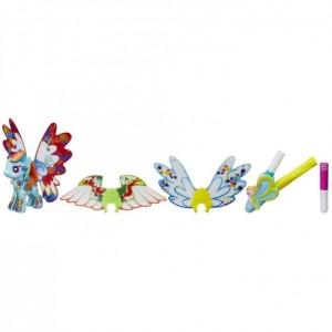 «Пони с крыльями Создай свою пони Радуга Деш» HB5678B
