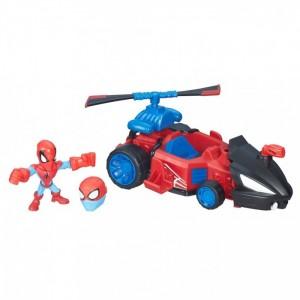 «Набор Микро фигурка Человек паук и машинка» HB6684B