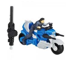 HB6769B Зимний солдат с запускаемым мотоциклом