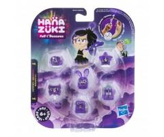 6 фигурок сокровищ фиолетовый