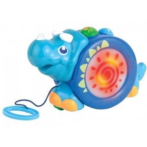 «Игрушка-каталка на шнурке  носорог» HK4206