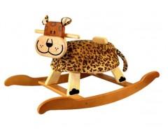 IM87340 Детская качалка  Леопард