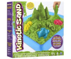 KN71402G Кинетический песок  Зеленый