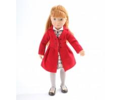 KR126876 Хлоя в красном пальто
