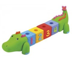KS611 Сортер Крокодил