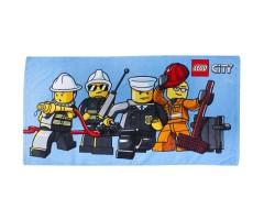 L12874 Полотенце Лего Сити