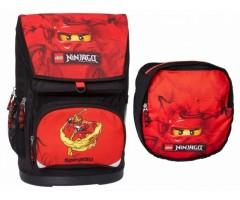 L16042 Рюкзак и сумка для обуви LEGO NinjaGo Kai 30 л