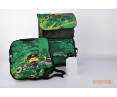 L200161908 Рюкзак с сумкой для обуви Ninjago Energ