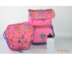 L200161915 Рюкзак с сумкой для обуви Friends Good Vibe