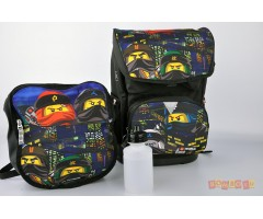 L200171910 Рюкзак с сумкой для обуви Ninjago Urban