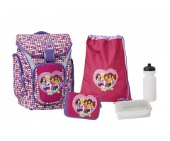 L201001814 Рюкзак с сумкой для обуви Friends
