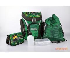 L201171908 Рюкзак с сумкой для обуви,  пеналом  Ninjago