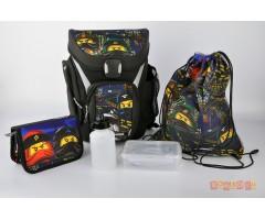 L201171910 Рюкзак с сумкой для обуви,  пеналом  Ninjago