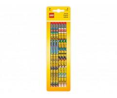 L51140 Набор из 6 карандашей с ластиками