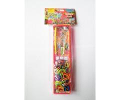 LB11707 Набор для плетения браслетов из резинок