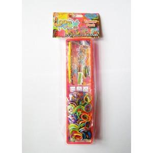 «Набор для плетения браслетов из резинок» LB11707