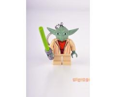 LGLKE122 Брелок-фонарик Star Wars - Yoda