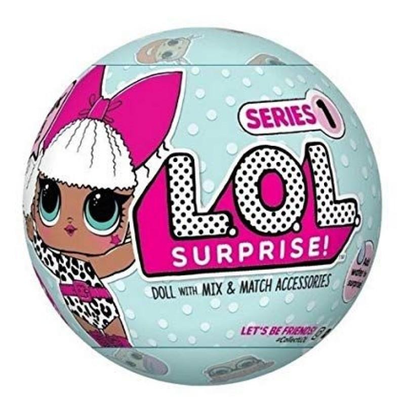 Кукла ЛОЛ - игрушка в многослойном шаре с сюрпризами