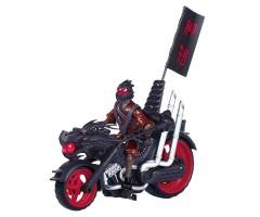 PL94003 Мотоцикл  с фигуркой  Фенга воин дракона