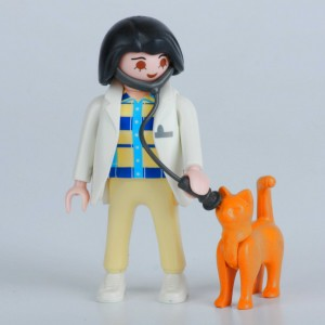 «Ветеринар с кошкой» PM001071