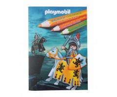 PM1260 Раскраска Плеймобил рыцари