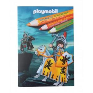 «Раскраска Плеймобил рыцари» PM1260