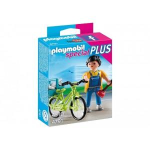 «Мастер с инструментами на велосипеде» PM4791