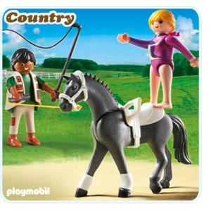 «Наездница-эквилибристка на лошади» PM5229