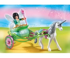 PM5446 Карета с Единорогом и фея бабочка