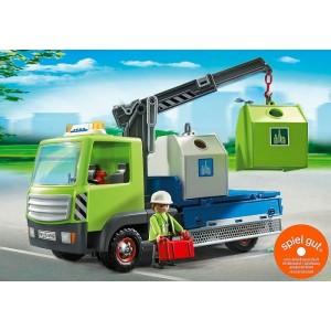 «Грузовик для перевозки стеклянной тары с контейнерами» PM6109