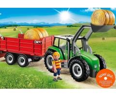 PM6130 Большой трактор с прицепом