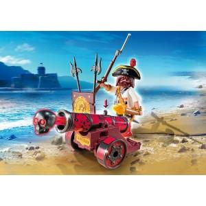 «Красная интерактивная пушка с пиратом» PM6163