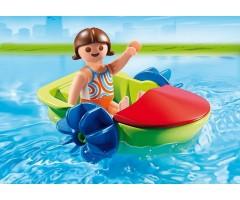 PM6675 Девочка в смешной лодке