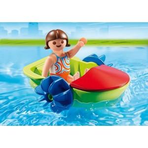 «Девочка в смешной лодке» PM6675