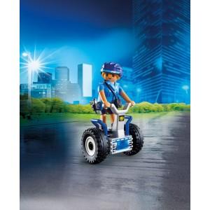«Полицейский на балансирующей гоночной машине» PM6877