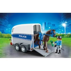 «Полиция с лошадью и прицепом» PM6922