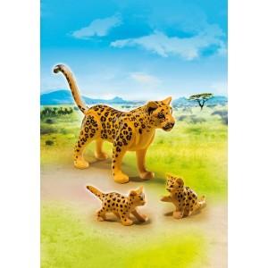 «Леопард с детенышами» PM6940