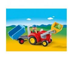 PM6964 Трактор с прицепом