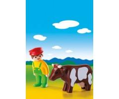 PM6972 Фермер с коровой