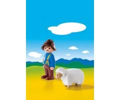 PM6974 Пастух с овцами