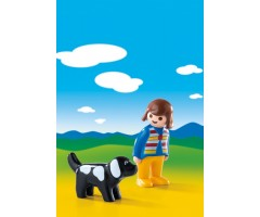 PM6977 Женщина с собакой